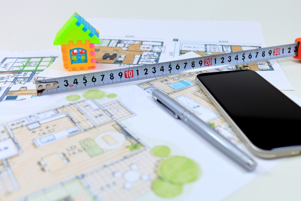 ITとは無縁のDXやITとは無縁建築業界でアナログな仕事のイメージ画像